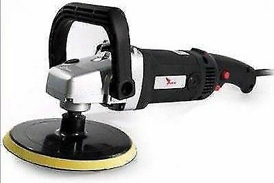 "Deltalyo Kestrel SIM180 7"" Variable Speed Electric Polisher 180mm Mopping Detail"