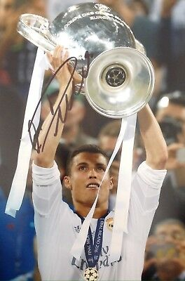 Cristiano Ronaldo Authentic Signed Real Madrid 12X8 Photo Aftal#198