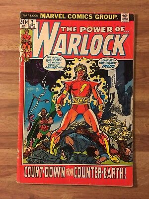 The Power of Warlock #2 (Marvel 1972) John Buscema~Bronze Age~Infinity War Movie