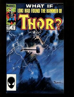 What If? #47 FN+ Sienkiewicz Loki Thor Heimdall Balder Warriors Three Hela Sif