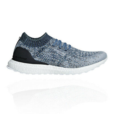 promo code c691e 05153 adidas Mens UltraBoost Uncaged Parley Running Shoe Blue White Trainers