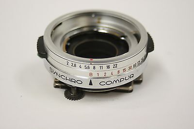 New replacement Kodak shutter synchro compur with X sync for 2.0 lens