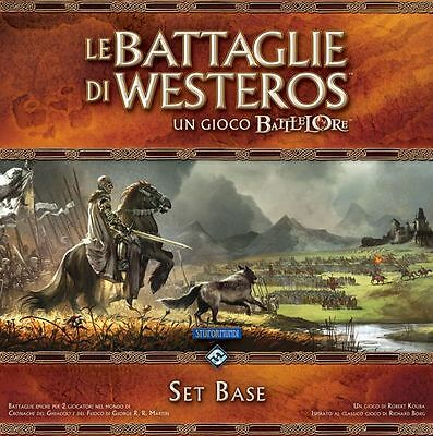 the battles of Westeros, A Game Battlelore, New by Stupor Mundi, Italiano