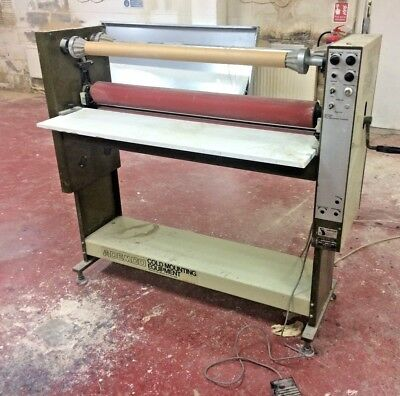 Ademco Sallmetall Electric Wide Format Cold Roll Laminator - 1200mm
