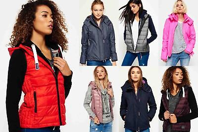 New Womens Superdry Jackets Selection - Various Styles & Colours 0307