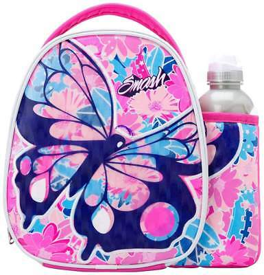 Smash Chrysalis Lunch Bag/Box and 500ml Bottle Set | Butterfly Lunchbox