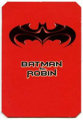 Batman And Robin 1997 Megaprint Checklist Card (C1319)