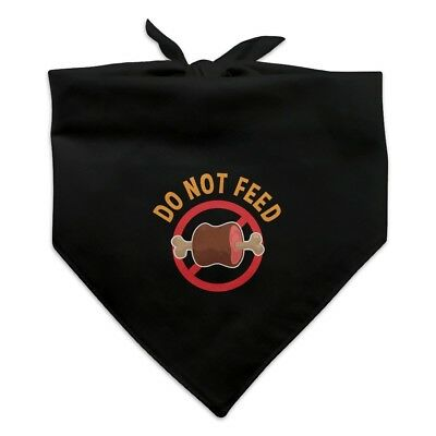 Do Not Feed Dog  Dog Pet Bandana