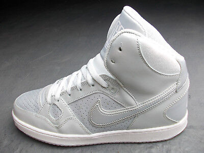 hot sale online 9bdb0 d2da5 Nike Air Dunk Hi Son Of Force Blazer Jordan 41 Silber Grau Weiss Fast Wie  Neu