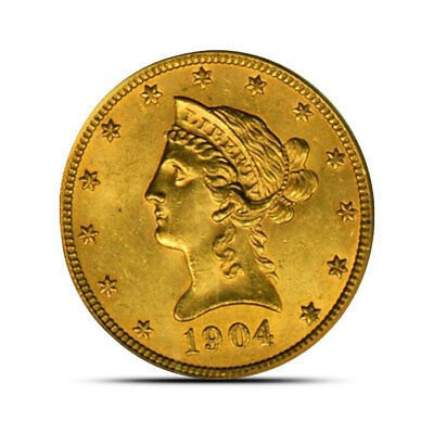 $10 Liberty US Mint Gold Eagle (XF+) | Extra Fine or Better