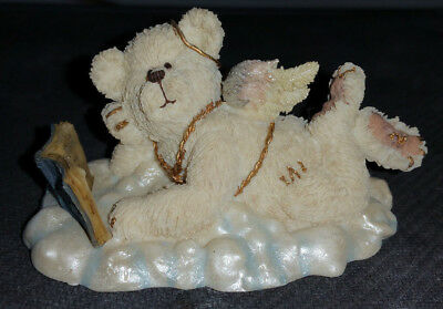Boyds Collection - Lil' Wings Bear - Ponder #24160 - 2E Angel Theme
