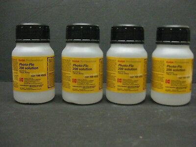 KODAK Photo-Flo 200 4 oz new old stock new kodak photo-flo 4 ounces new old stoc