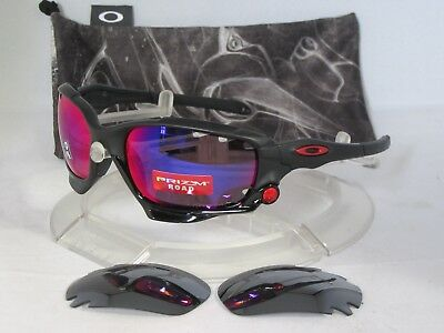 91ca8463e6bbb OAKLEY Racing Jacket OO9171-3762 Matte Black   Prizm Road   Black Iridium