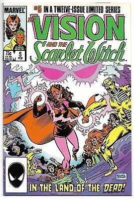 The Vision and The Scarlet Witch #5 (Marvel, 1986) – Quicksilver – Samhain – NM