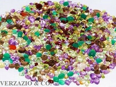 Natural Gemstones Mixed Gem Lot Wholesale Loose Gem Mix Gemstone Lot Loose Gems