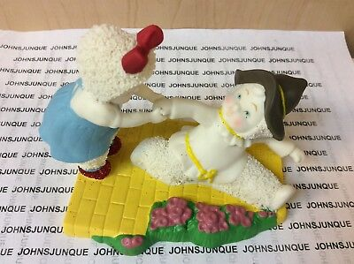 Give Me Your Hand  Snowbabies Figurine New Original Box Wizard Of Oz Collectible