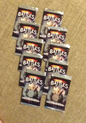 Lot of Doctor who Battles in Times 2006 Trading cards 10 packs (9 cards ea)  EUC