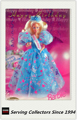 1996 Australia Tempo 36 Years Of Barbie Trading Card Happy Birthday Card HB1