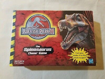 JURASSIC PARK 3--JP 3--The Spinosaurus Chase Game Mint In Box!!