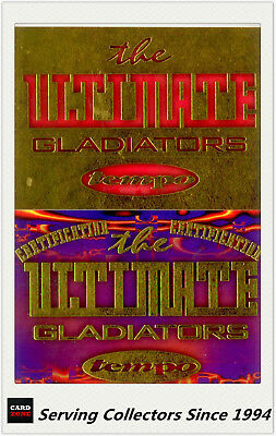 Australia The Gladiators Ultimate Card Collection Sample Card Set(31)-Ultra Rare