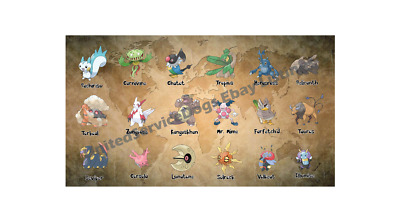 Pokemon Go Trade Regionals: Tropius, Relicanth, Torkoal, Mr. Mime, Farfetch'd+