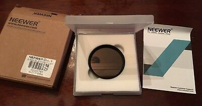 "Neewer 2""  13 % T Moon Filter Optical Glass with Metal Cel For Telescope- NIB"