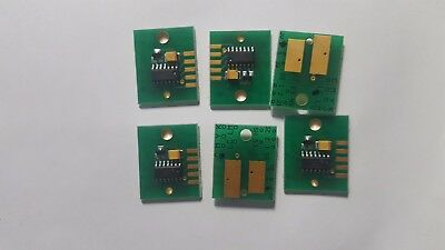 USA located 6/ set Chip Permanent for Mimaki JV33 / SS21 Cartridge C/M/Y/K/LC/LM