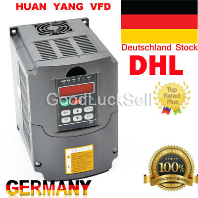 HY 220V 10A 2.2KW CNC Frequenzumrichter Variable Frequency Drive Inverter VFD DE