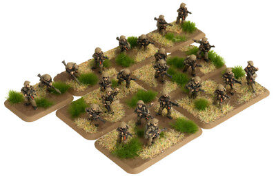 Flames of War: Team Yankee East German Mot-Schutzen Platoon (24 figures)