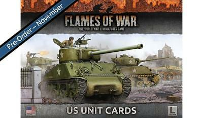 Flames Of War: Us Unit Cards (Late War)