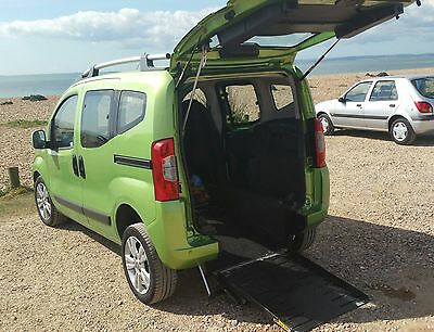 FIAT Qubo 1,3 D Auto WAV (remote controlled ramp) 61 plate only.25k ml.