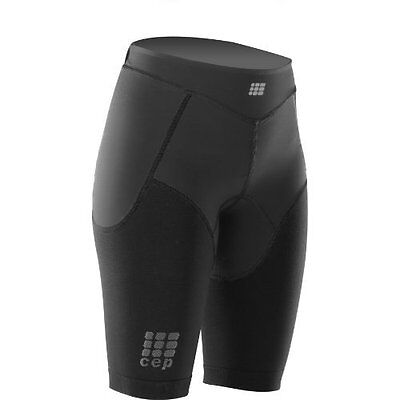 """CEP Women's Dynamic+ Running Compression Shorts, Black, IV 22-26"""" in. - NEW"""