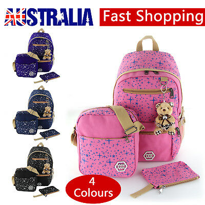 Backpack Women Bags School Girl Bookbags Shoulder Bag Rucksack Canvas Travel Bag
