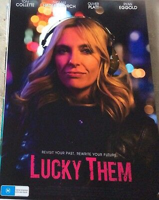 Promotional Movie Flyer Lucky Them Toni Collette- *NOT A DVD*
