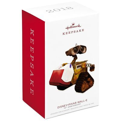 2018 Hallmark Disney Pixar WALL-E 10th Anniversary Ornament EVE Galaxy