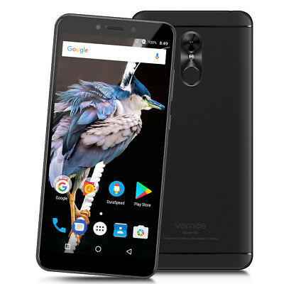 """Vernee M6 5.7"""" 18:9 Android 7.0 Octa Core 4GO+64GO 4G Téléphone Touch ID 3000mAh"""