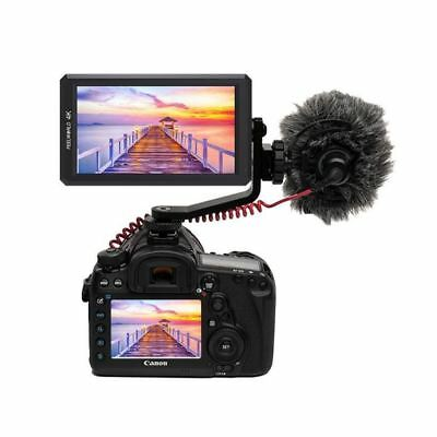 FeelWorld F6 5.7'' 4K HDMI On-camera Monitor with Tilt Arm & Power Output