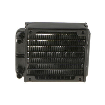 80mm 8Pipe Aluminum Heat Exchanger Radiator for PC CPU CO2 Water Cool