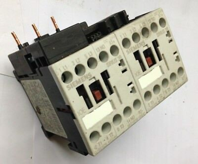 SIEMENS Reversing Double Contactor 24V DC 3Kw motor 20A rated Sirius 3RT1016
