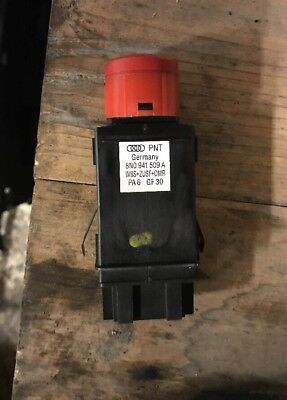 AUDI TT 8N Mk1 Genuine Hazard Relay Warning Light Switch Button Knob  8N0941509A