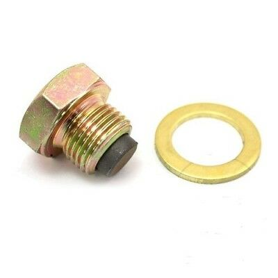 Suzuki DR 650 1992-2000 M14 X 1.25 MAGNETIC OIL DRAIN PLUG WITH WASHER