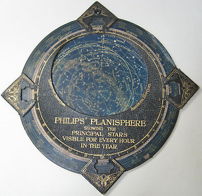 Antique Philips Planisphere