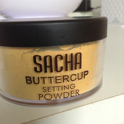 Sacha Buttercup Setting Powder - Brand New -  Full Size