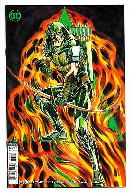 Green Arrow #42 Rebirth Variant Cvr (DC, 2018) NM