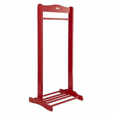 Brand new in box Izziwotnot solo hanging rail in red with shoe rack