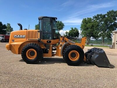 2017 Case 621F Wheel Loader REMAINING WARRANTY Cab AC Rubber Tire Diesel Tractor