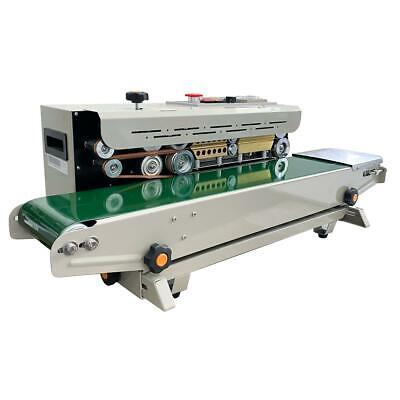 832456 Automatic Bag Band Continuous Sealing Packing Machine Sealer VAT Free P&P
