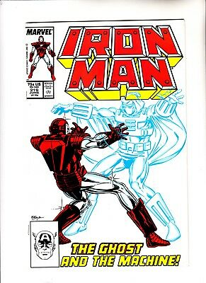Iron Man 219 1st app of The Ghost