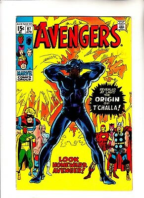 Avengers 87 Black Panther origin issue