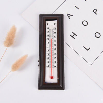 Indoor/Outdoor Wall Office Laboratory Home Garage Temperature Thermometer Hot WQ